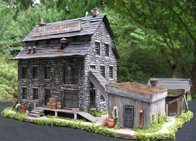 HO scale tannery