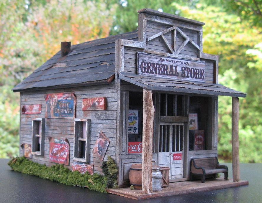 O scale general store