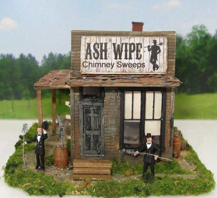 HO scale chimney sweeps