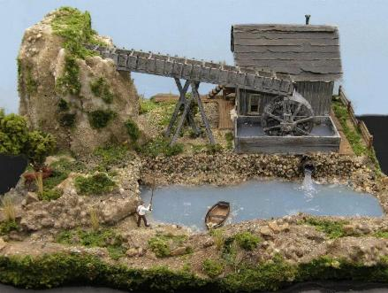 HO scale Mill