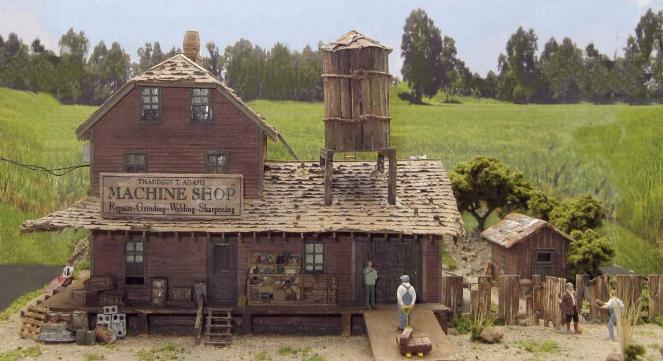 ho scale shop