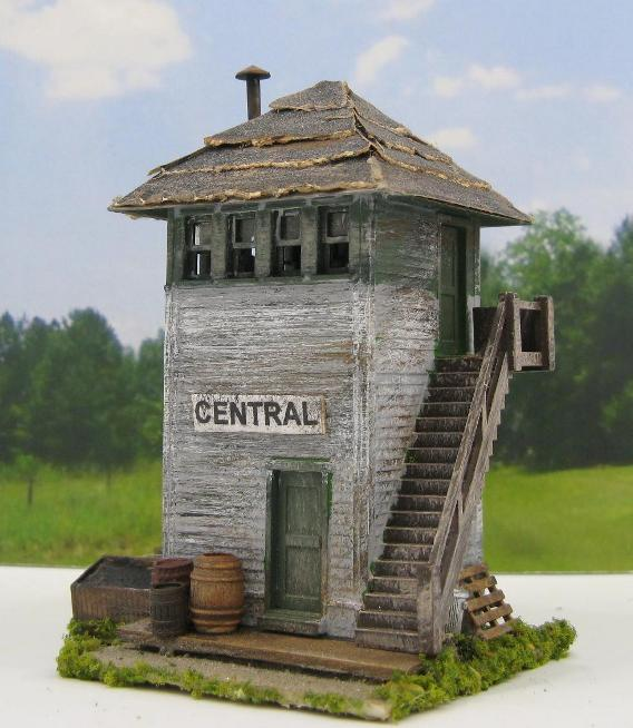HO scale signal tower