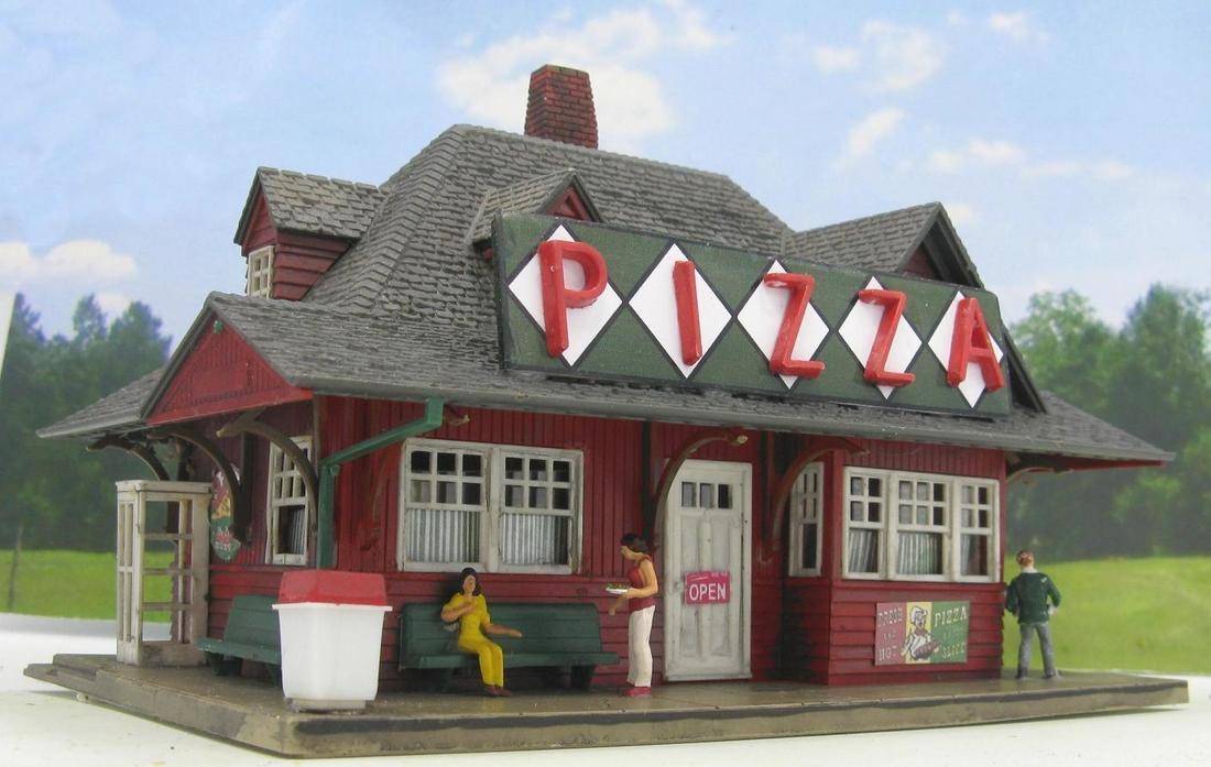 HO scale restaurant