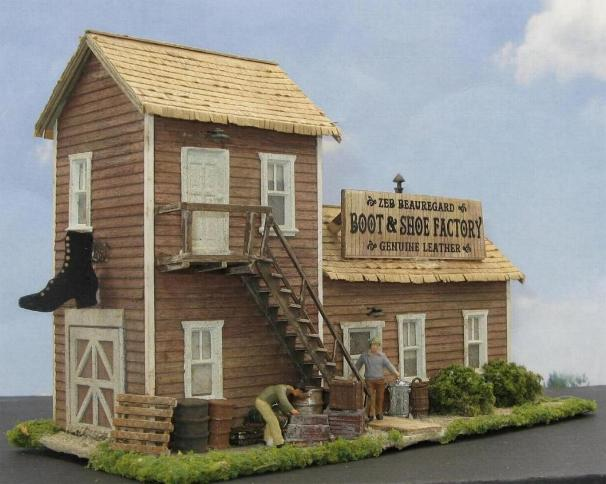 ho scale shoe factory