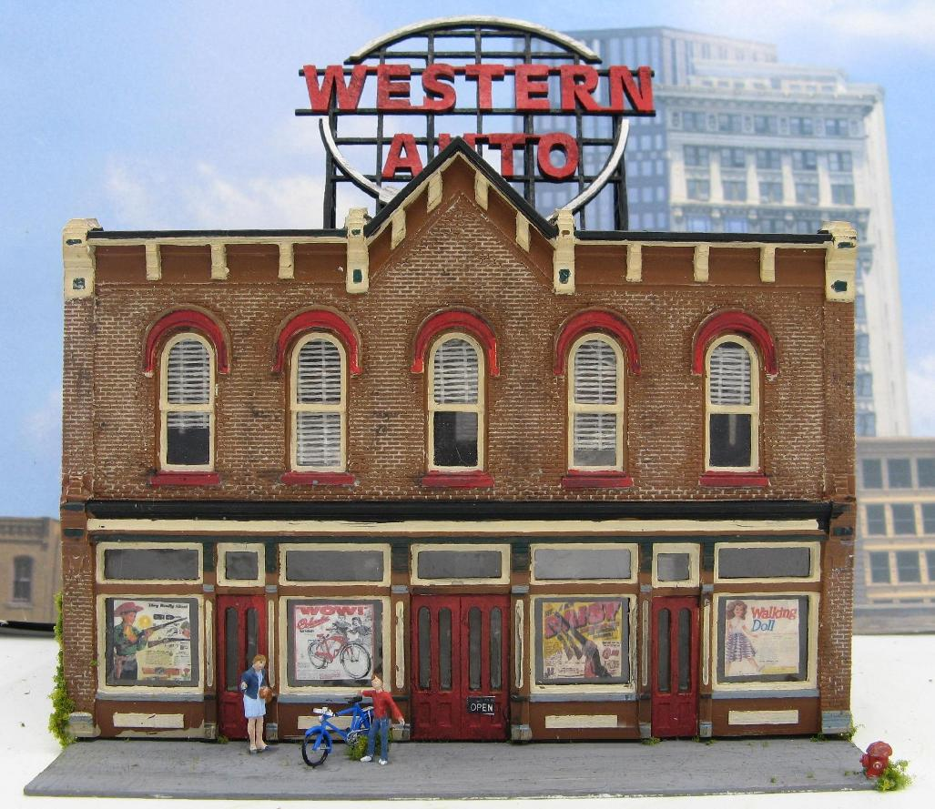 HO scale Western Auto Store