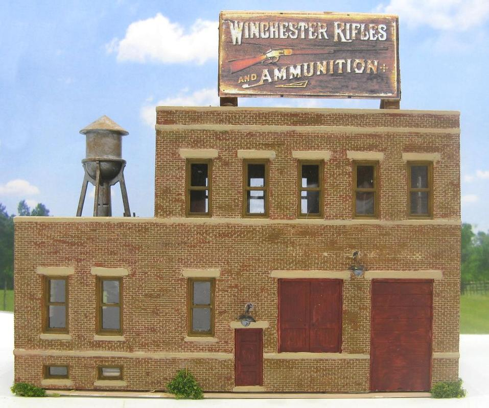 Winchester Rifle Factory HO Scale